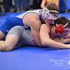 "Photo by Aaron Beckman  <br /> <br /> O""Neill's David Fox controls Madison's Hunter Randles Saturday during the C2 District championship match of 170lb. Fox ended up beating Randles 13-5."
