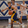 Photo by Aaron Beckman  <br /> <br /> West Holt's Jeff Judge attempts to keep the ball away from Hartington CC's Jared Wiebelhaus Monday night in Pierce during the Boys C2-4 District Finals.