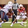 Aaron Beckman/DailyNews  <br /> <br /> Nebraska's Terrell Newby (34) makes a cut against Fresno State's Malik Forrester (97) Saturday in Lincoln.