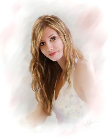 Sarah_painted 16x20