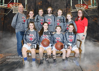 GIRLS 8TH GRADE TEAM 8x10