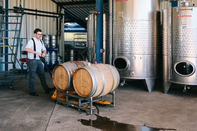 Silas Wines - Wine processing - 0001