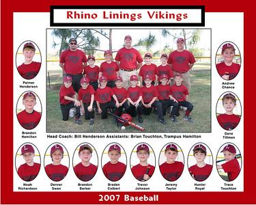 2007 Rhino Lining BBall Team