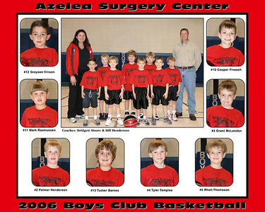 Azalea Surgery Center Basketball Team