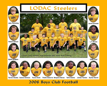 Steeler Football Team