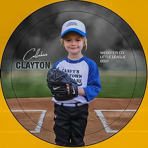 CALLAHAN CLAYTON BUTTON