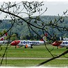 Corona Lockdown, Swiss Airplanes