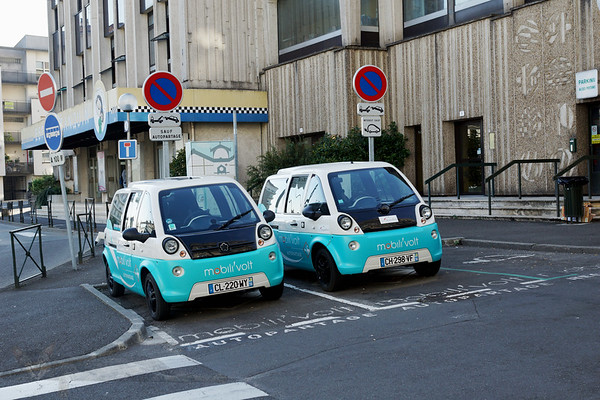 Angouleme - Electric Cars - France