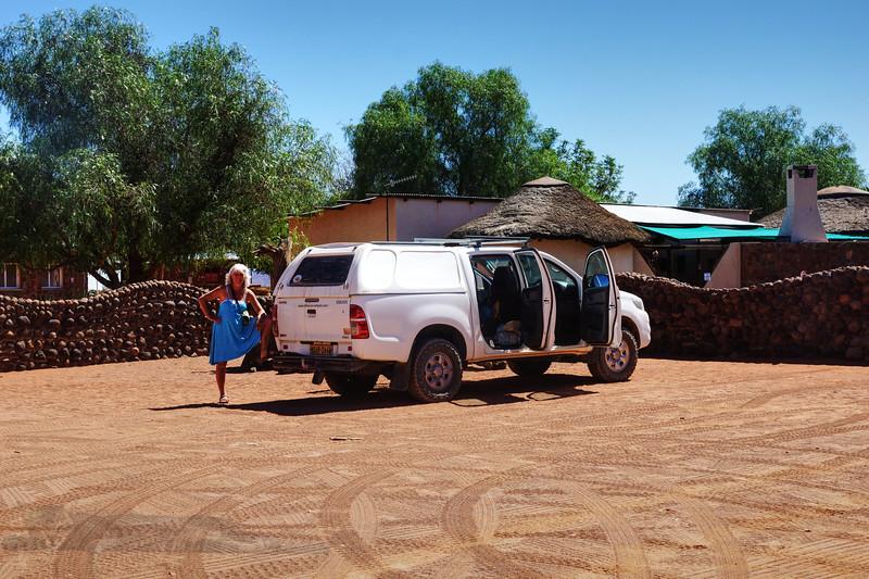 Driving Break - Namibia