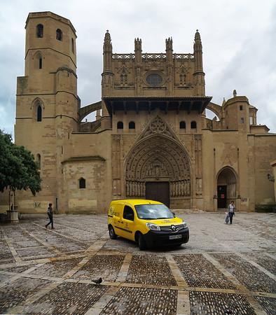 Catedral de Huesca and Correos (Post)  Van