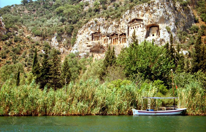 Kaunos Rock Tombs - Dalyan - Turkey