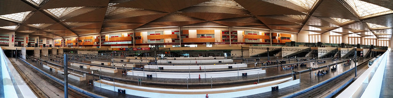 Zaragoza Delicia Railway Station