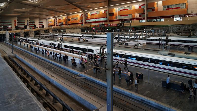 Zaragoza Delicia Railway - AVE Trains