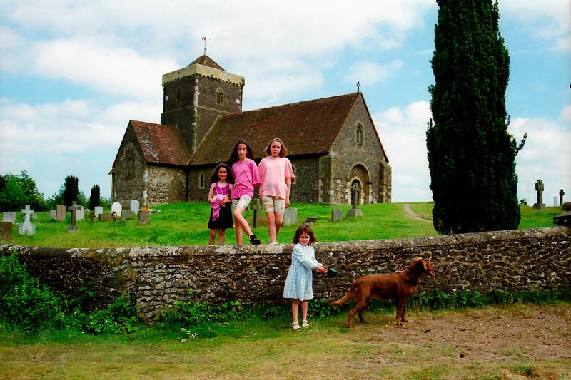 St Martha's Church - Chilworth