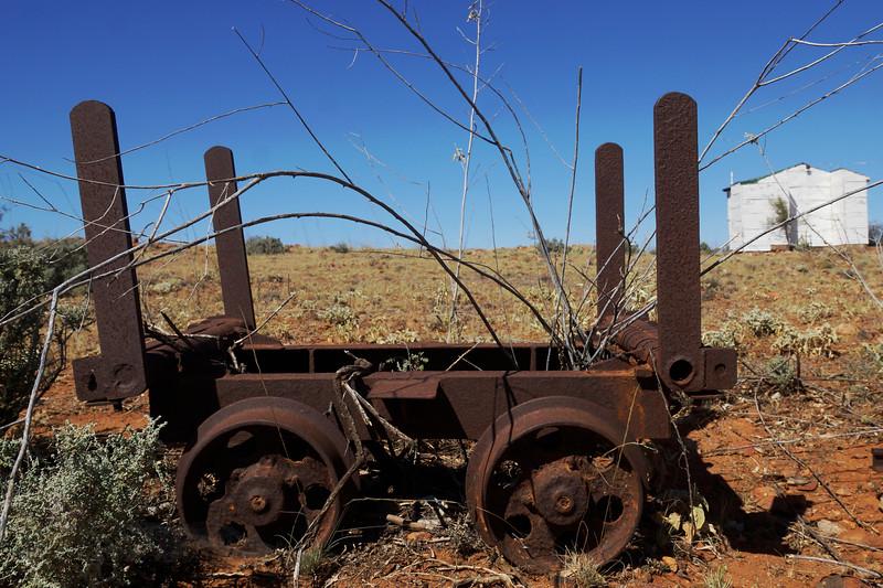 Mine Machinery near Broken Hill