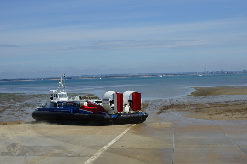 Hovercraft at Ryde, Isle of Wight