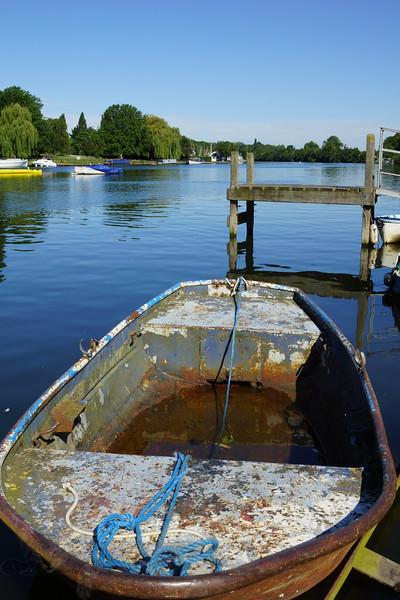 Rowing Boat at Kingston upon Thames