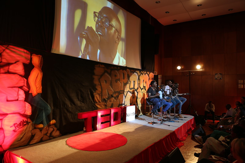Sauti Sol at TEDx Nairobi 2013