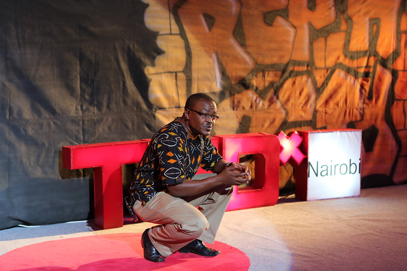 Aghan Odero Agan at TEDx Nairobi 2013