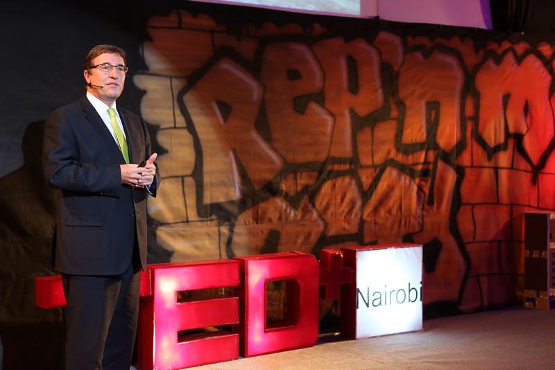 Achim Steiner at TEDx Nairobi 2013