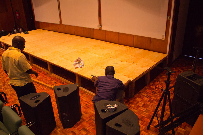 TEDx Nairobi 2013 Setup