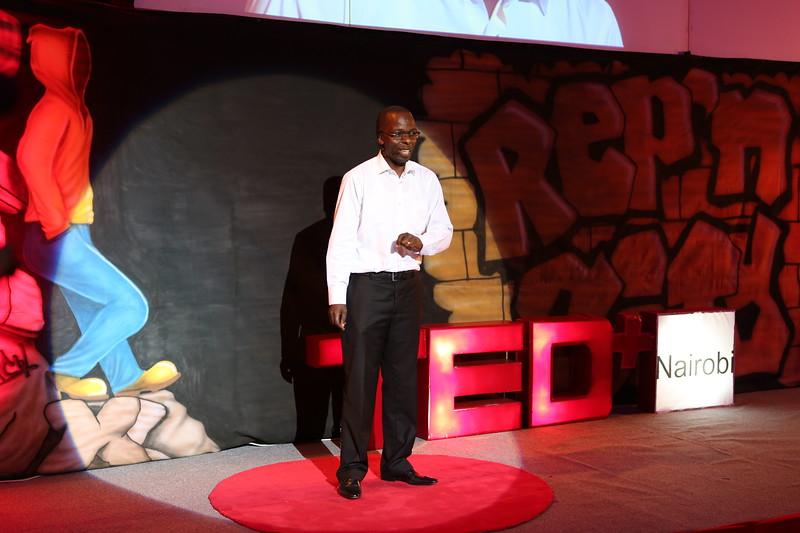 Samuel Makome at TEDx Nairobi 2013