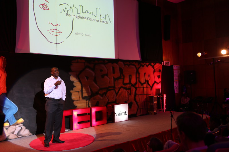Alex Awiti at TEDx Nairobi 2013