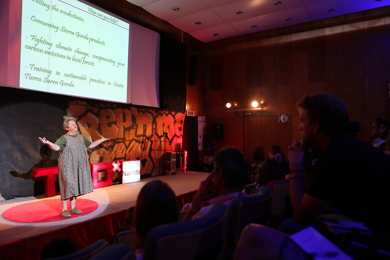 Martha Ruiz Corzo at TEDx Nairobi 2013