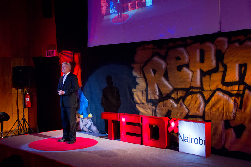 Tony Simons at TEDx Nairobi 2013