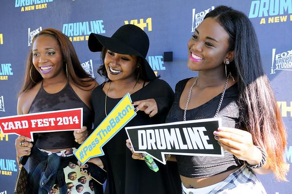 DRUMLINE   HU Homecoming Yardfest - 10/17/14