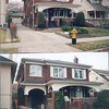 86 Colin ~ front, Before & After 1996 reno