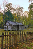 Ephraim Bales Cabin, Great Smoky Mountains National Park, Tennessee, USA
