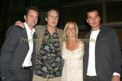 Matthew Perry,Chevy Chase,Chris Evert & Gavin Rossdale