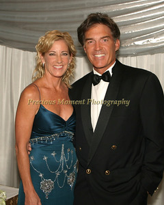 Chris Evert and husband Andy Mills/Black Tie Ball