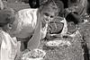 Tent City Pie-eating Contest