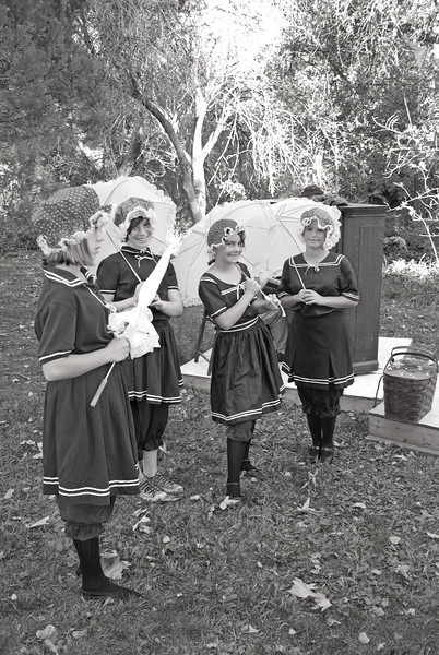 1915 re-enactment Bathing Beauties