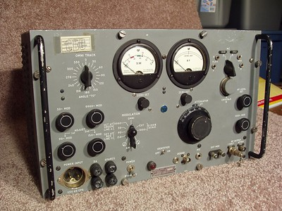 This unit was used to calibrate Aircraft Omni navigation equipment.