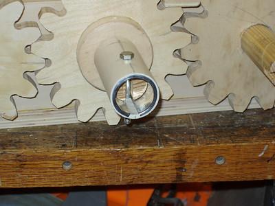 The crank bushing/sleeve assembly.