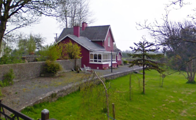 The former Corofin Station on Google Maps