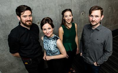 (L-R) Kris Drever, Julie Fowlis, Aoife Ni Bhriain & Padraig Rynne  Picture: Paul Campbell