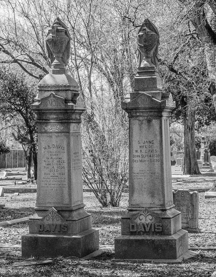 2018 0228 - Richmond TX  - Morton Cemetery-0932