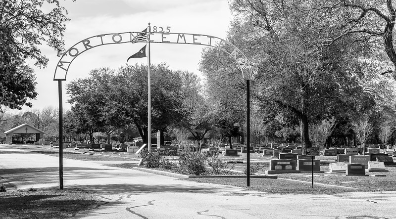 2018 0228 - Richmond TX  - Morton Cemetery-0941