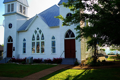 Methodist Church, Chappell Hill, Texas