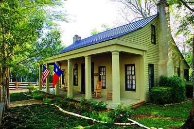 Wallis-Evans House, Chappell Hill, Texas