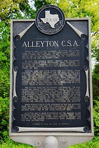 My German ancestors settled here in Alleyton, TX near Columbus, TX.