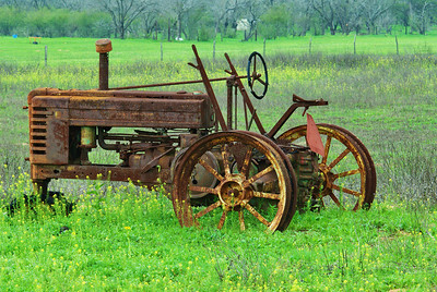 Old Tractor Goliad County