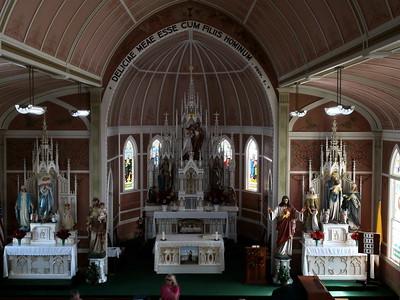 St. John the Baptist Catholic Church, Ammannsville, Tx