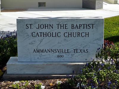 St. John the Baptist Catholic Church, Annannsville, TX