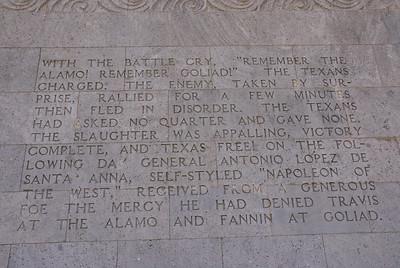 7) Description of the Battle of San Jacinto