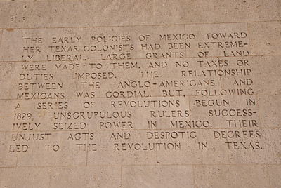 1) Prelude to the Texas Revolution and early policies to the Texas colonists
